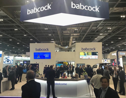 Exhibition Stand babcock